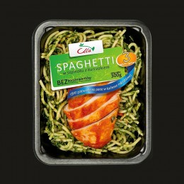 Spaghetti food photography