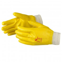 Product photography of protective gloves