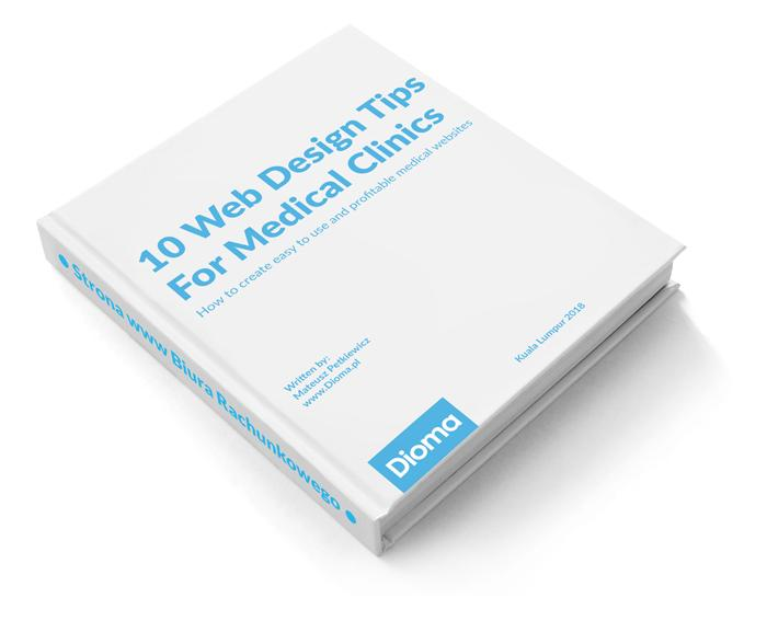 10 Web Design Tips For Medical Clinics - E-book